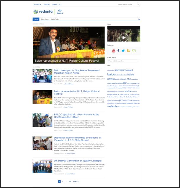 Balco Press Release