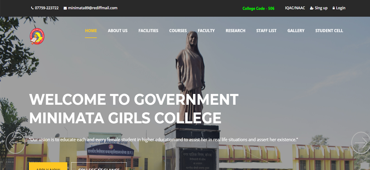Minimata Government Girls College