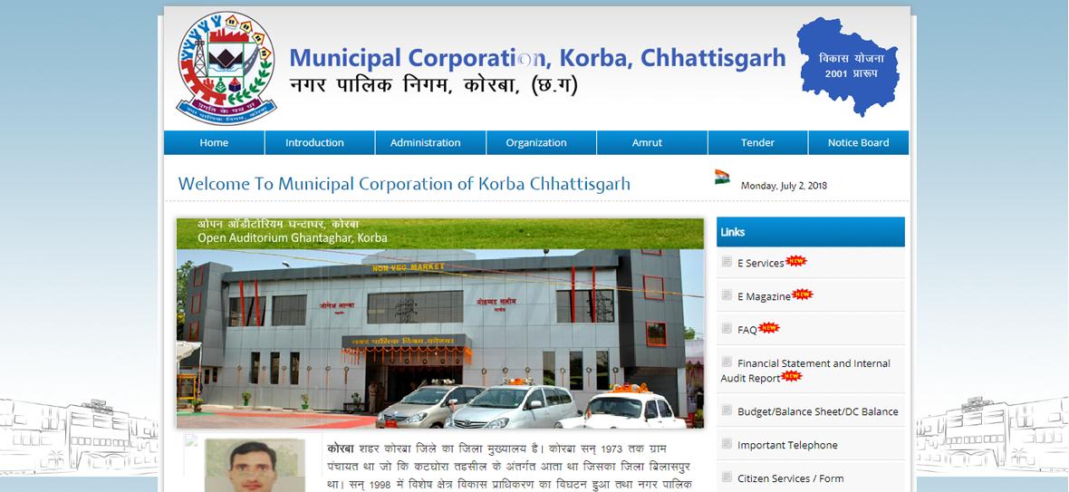 Municipal Coorporation Korba